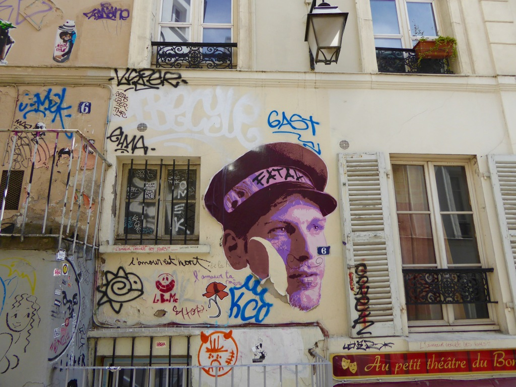 paris graffiti © ibrar bhatt