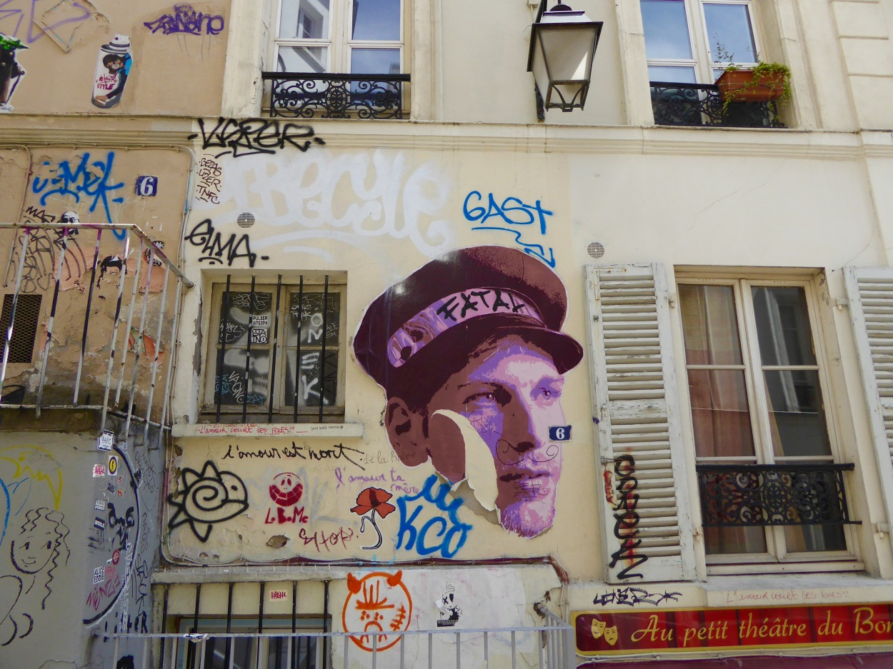 paris graffiti © ibrar bhatt
